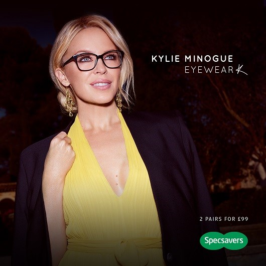 Set your sights on Kylie at Specsavers